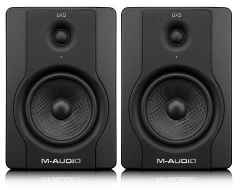 M Audio Bx5 by M Audio Bx5 D2 Active Monitor Speakers