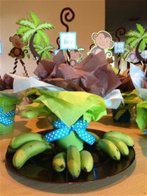 Monkey Themed Baby Shower Centerpieces by Monkey Baby Shower Boy On Monkey Baby Showers