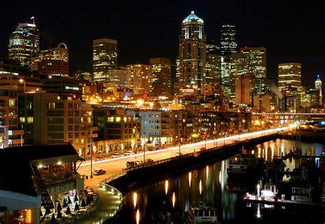 seattle city light login waterfront cityscape 32 by 32tsunami on deviantart