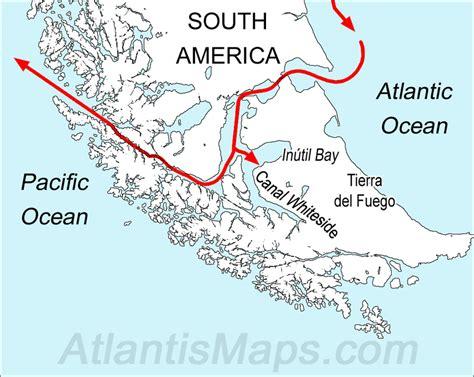 south america map passage magellan s terrifying circumnavigation of the globe