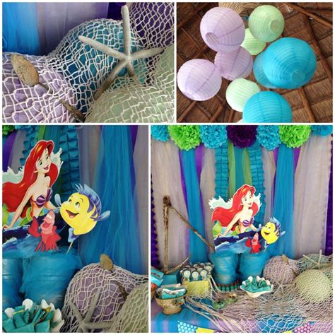 mermaid themed decorations 89 best images about ariel mermaid pool ideas