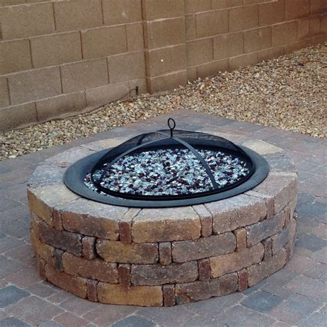 diy fire pit glass 16 with diy fire pit glass best