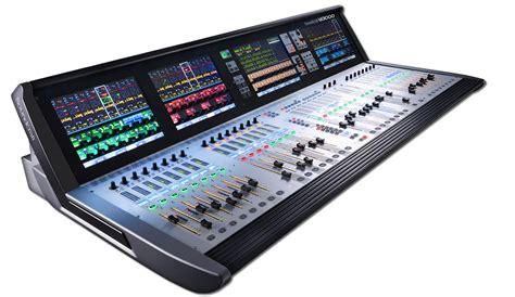 digital audio console vi3000 soundcraft professional audio mixers