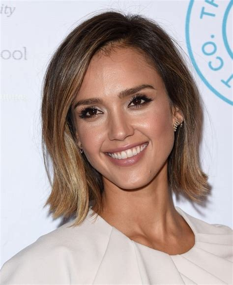 Jessica Alba Haircut Bob   Trendy Haircuts