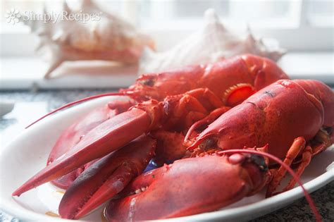 boiled lobster recipe how to cook and eat lobster simplyrecipes com