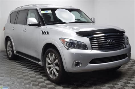 pre owned 2012 infiniti qx56 7 passenger suv in