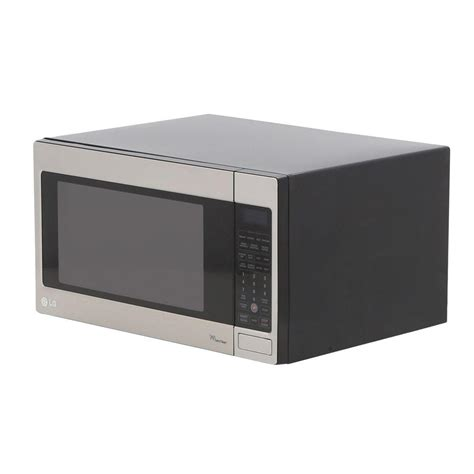 lg lcrt2010st 2 0 cu ft counter top microwave oven with