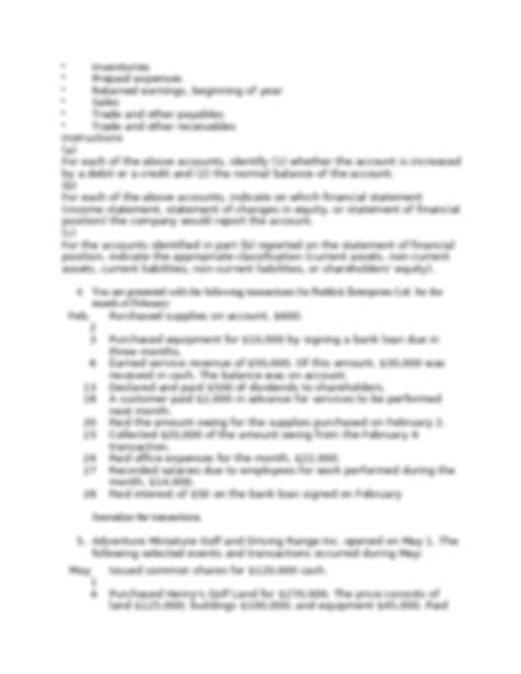 acct chapter  questionsdocx accounting chapter
