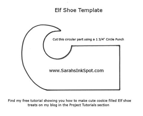 printable elf boots to make elf shoes templates elf shoe template click
