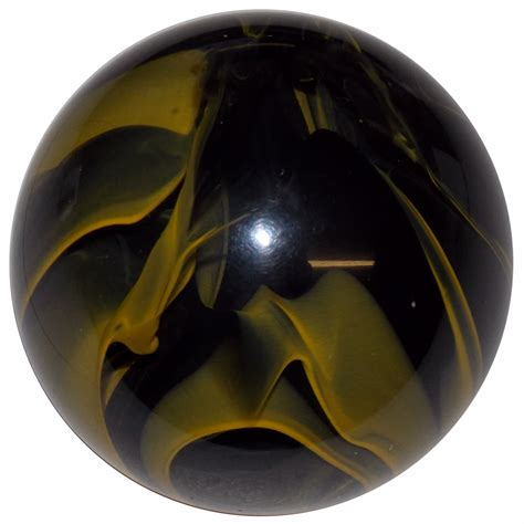 Yellow Shift Knob by Splash Clear With Smoky Yellow Knob