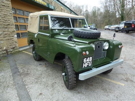 land rover series ii 648 hfu 1959 land rover series ii quot better than