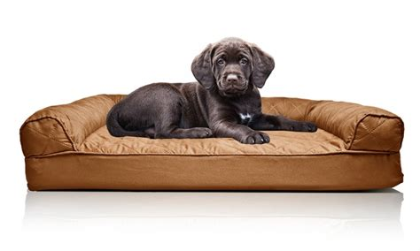 sofa style orthopedic pet bed mattress up to 86 on sofa style orthopedic pet bed groupon goods