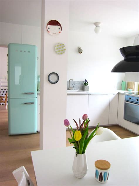 Kühlschrank 50er Style rosa retro k 252 che