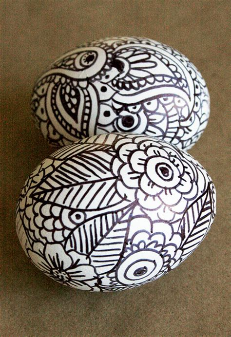 doodle easter eggs 5 easy easter egg decoration ideas for the whole family