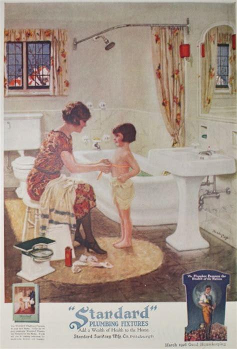 bathroom advert standard plumbing fixtures bathroom ad vintage 1920s good