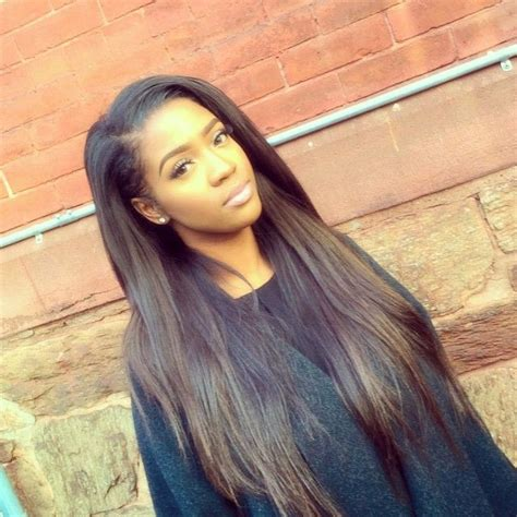 picture of long straight hair sew ins 25 best ideas about straight weave on pinterest