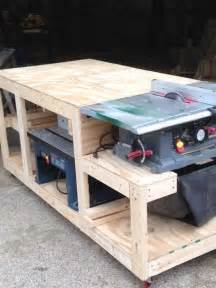 workshop bench design work bench woodworking creation by boone s woodshed
