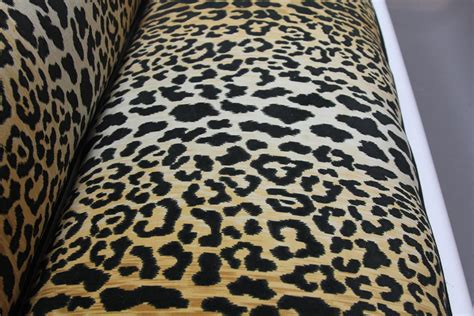 leopard print settee newly laquered and upholstered empire style sofa in