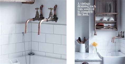 copper taps bathroom love the copper pipe taps mary st bathroom pinterest