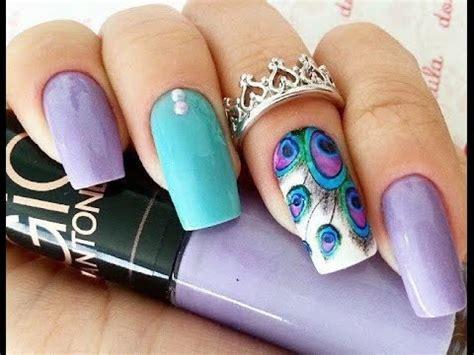 imagenes de uñas de acrilico sencillas y bonitas u 241 as decoradas con esmalte sencillas y bonitas youtube