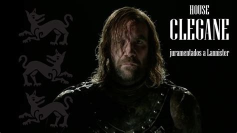 house clegane casas de game of thrones