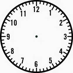 Clock Template by Blank Clock Template Blank Clock Blank Clockface 点力图库