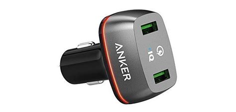 Anker Dual Port Car Charger by Deal Anker Dual Port Charge 2 0 Car Charger Is Just