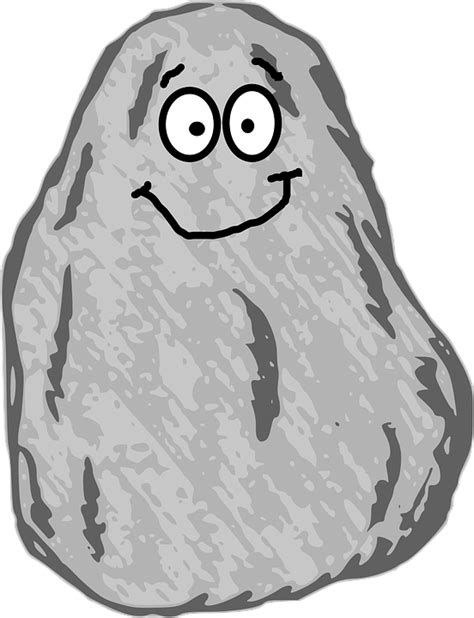 rock clip rock clipart transparent background pencil and in color