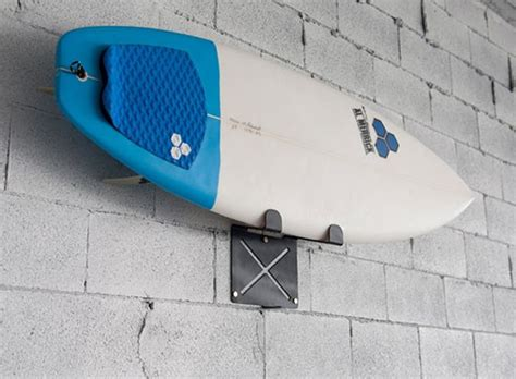 Surfboard Racks For Wall Mounting by El Gringo Wall Mounted Surfboard Rack Accessories Better Living Through Design