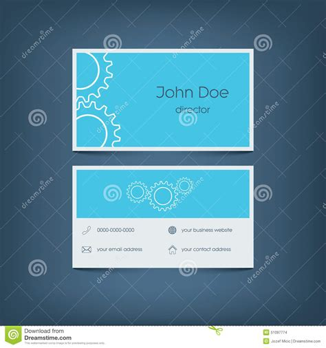 business card site coming soon template modern flat design business card template graphic stock