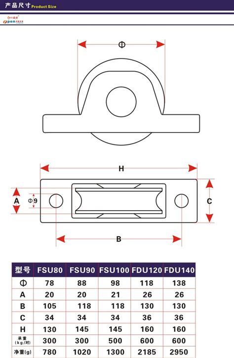 roda pintu sliding hd heavy duty dekson gerbang geser roda pintu garasi buy product on alibaba