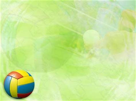 powerpoint themes volleyball volley ball 05 powerpoint templates