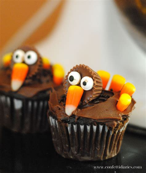 Cupcake Of The Week Gobble Gobble by Thanksgiving Turkey Cupcakes Katarina S Paperie