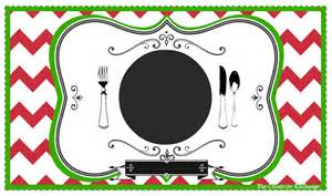 Placemat Template Printable by Free Printable Child S Chalkboard Placemat November