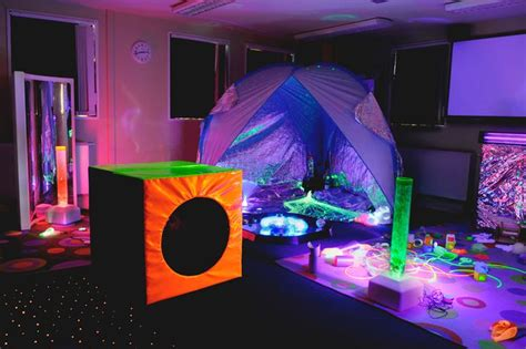 sensory room light wall so many great features in this sensory room courtest of