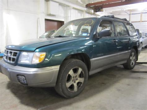 1998 Subaru Forester Parts by Parting Out 1998 Subaru Forester Stock 110118 Tom