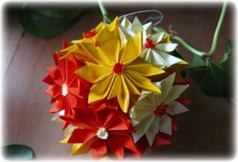 Origami Gerbera - origami maniacs origami gerbera kusudama