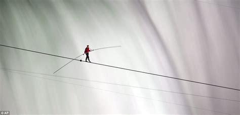 Walk The Tights Rope by Niagara Falls Tightrope Walk 2012 Walker Nik Wallenda