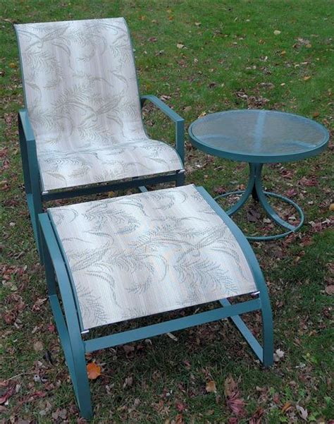 Patio Chair Material Patio Furniture Fabric Replacement Slings Icamblog