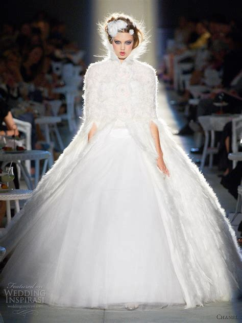 Wedding Channel by Chanel Fall Winter 2012 2013 Couture Wedding Inspirasi