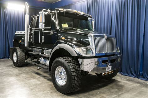 international cxt for sale used lifted 2005 international 7400 cxt 4x4 diesel truck