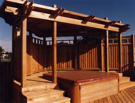 Garden Arbor Plans Spa Decks Traditional Deck Kansas City By Outdoor