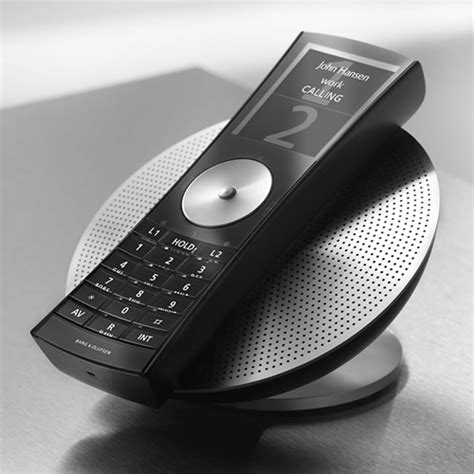 Will Mobiles Make Benetton Cool Again by Olufsen Tries To Make Land Line Phones Cool Again