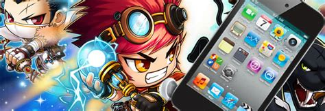 Maplestory Giveaway - maplestory branded ipod touch giveaway