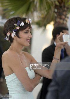 Hochzeitsfrisur Pixie Cut by Haarschmuck Fascinator Braut Reif Jules2 Ivory Frisur