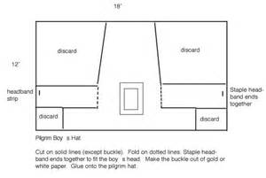 directions for making a pilgrim hat