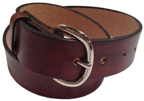 Handmade Mens Leather Belts - s leather belts
