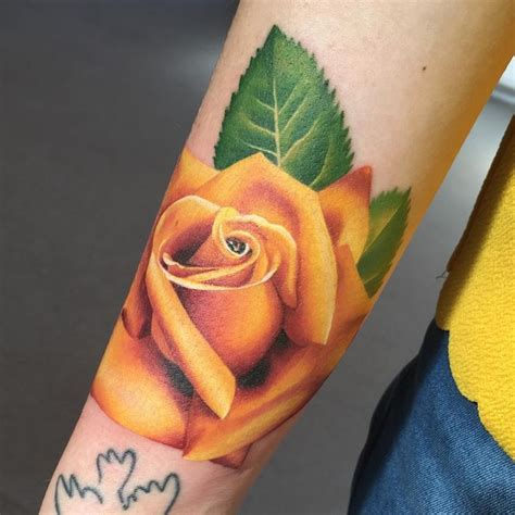 yellow tattoos designs ideas and meaning tattoos