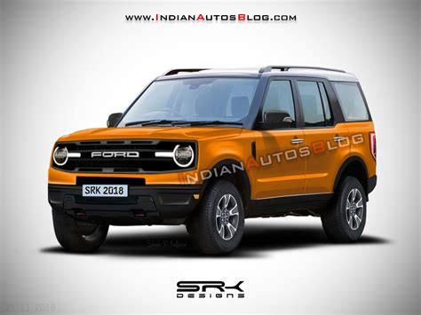 Ford Baby Bronco 2020 by 2020 Ford Bronco Iab Rendering