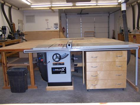 table saw cabinet plans my escape a table saw cabinet by rick